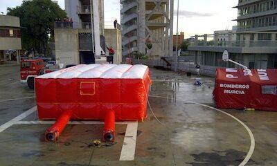 Colchón de salto SAF.R.C. 20 mtrs.