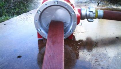 Lavadora de mangueras