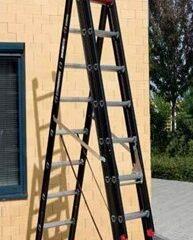 Escalera manual combinada